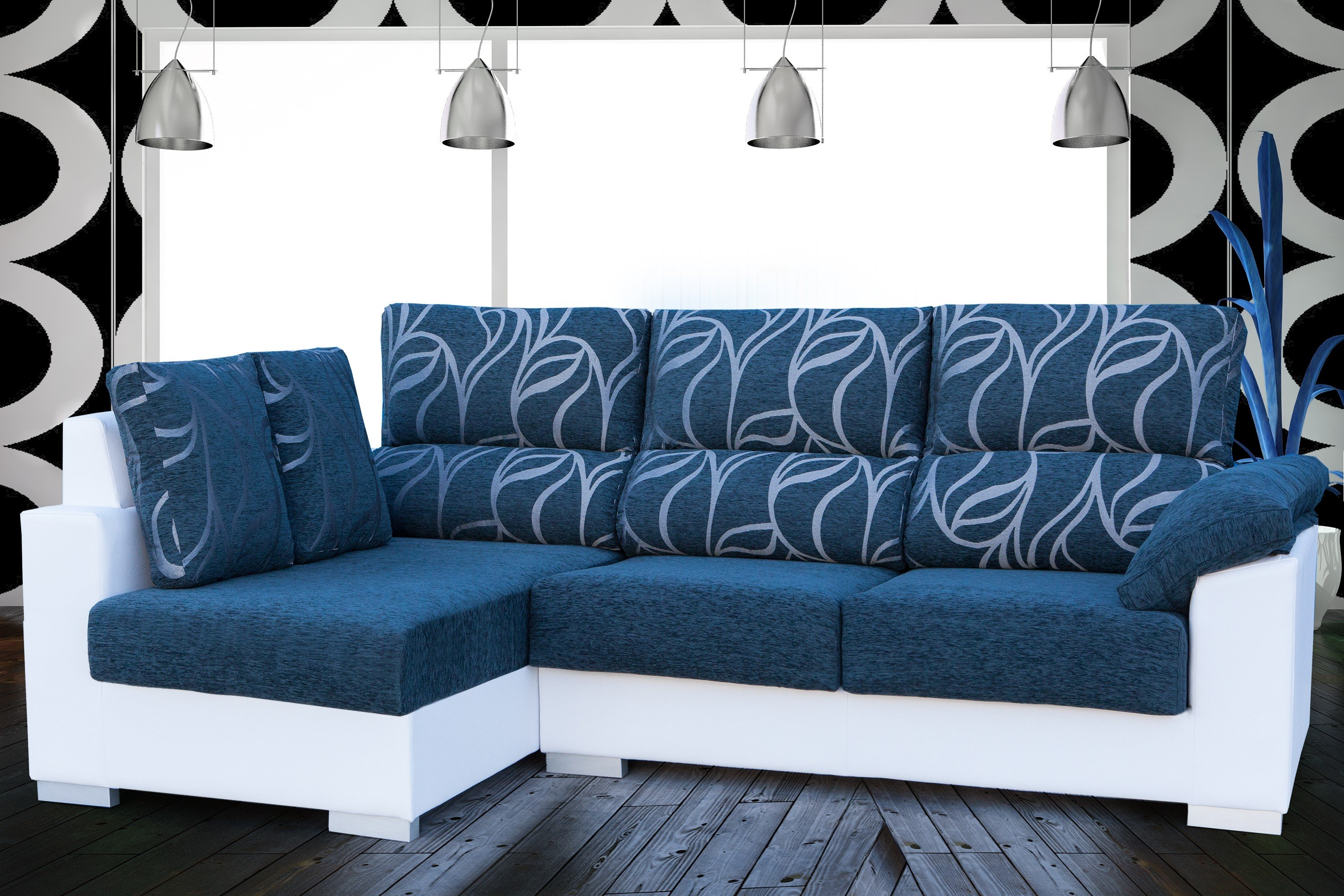 Sof s kal 05 sofas chaise longue sofas cama sillones for Sillones chaise longue