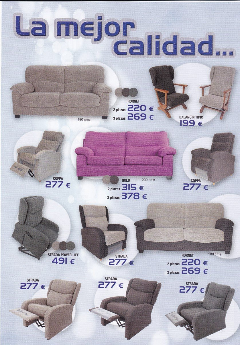 Ofertas sofas sillones y relax sofas chaise longue for Sillones en oferta