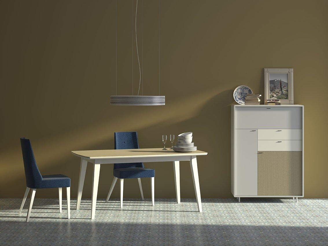 Comedores vintage muebles y decoraci n valencia tienda for Comedores clasicos modernos