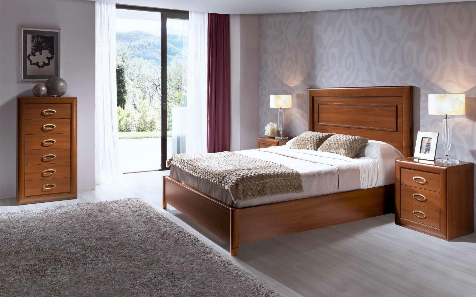 Dormitorios cl sicos 1 dormitorios juveniles coloniales matrimonio habitaciones infantiles - Dormitorios infantiles clasicos ...