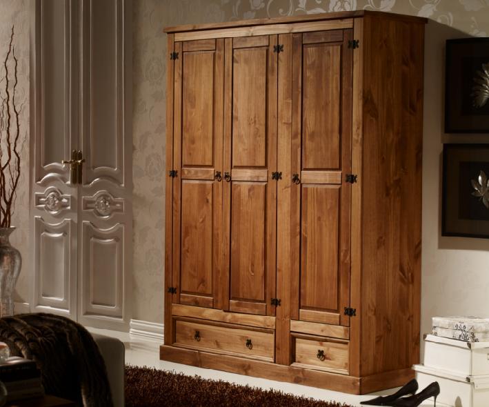 Armarios r sticos de pino muebles r sticos baratos for Muebles de oficina rusticos