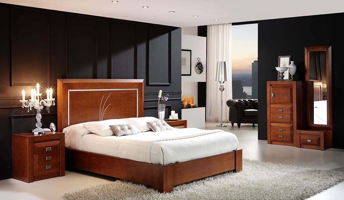 Dormitorios cl sicos anf 02 dormitorios juveniles - Dormitorios infantiles clasicos ...