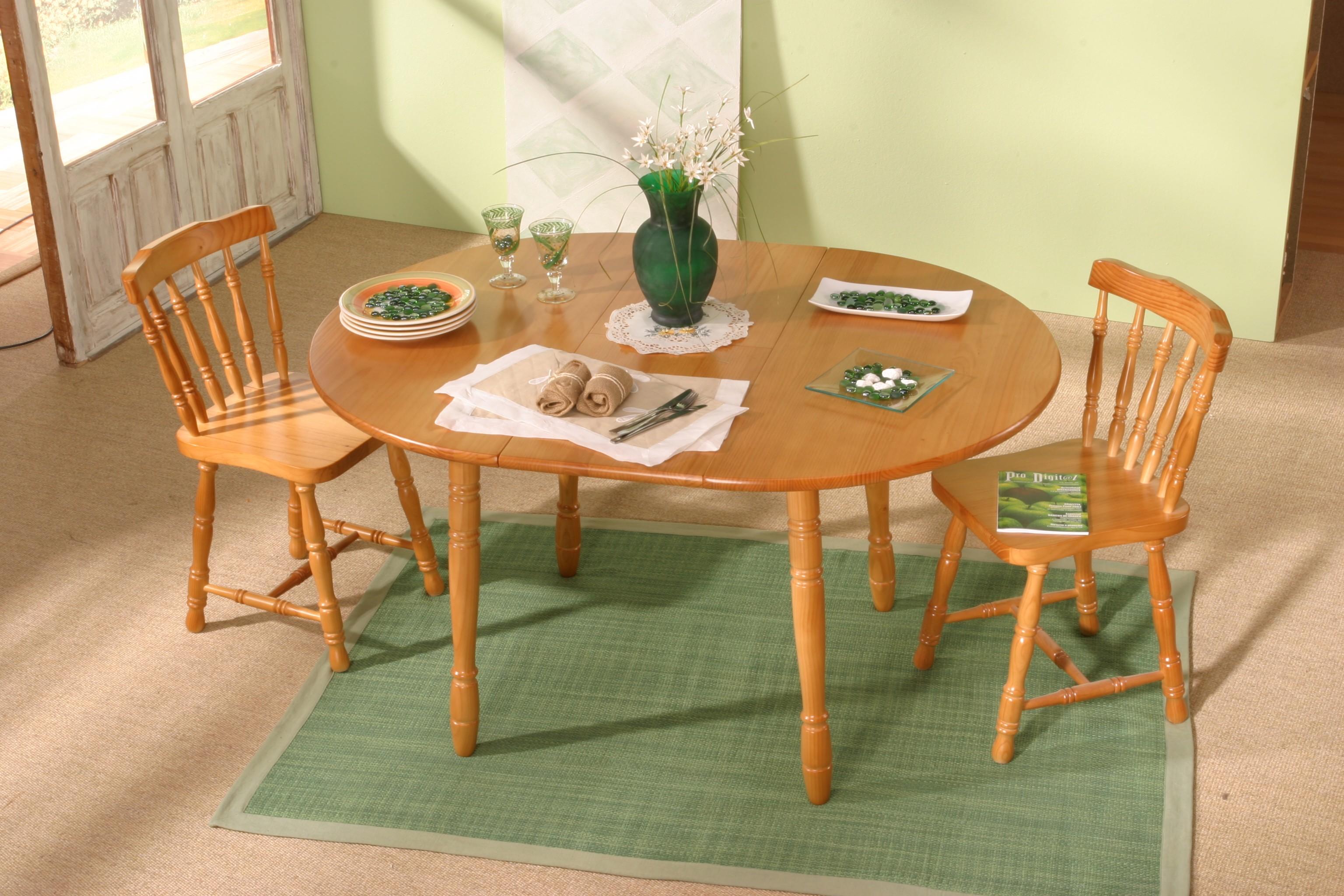 Sillas y mesa pino mib 01 muebles de pino dormitorios for Comedores mesas