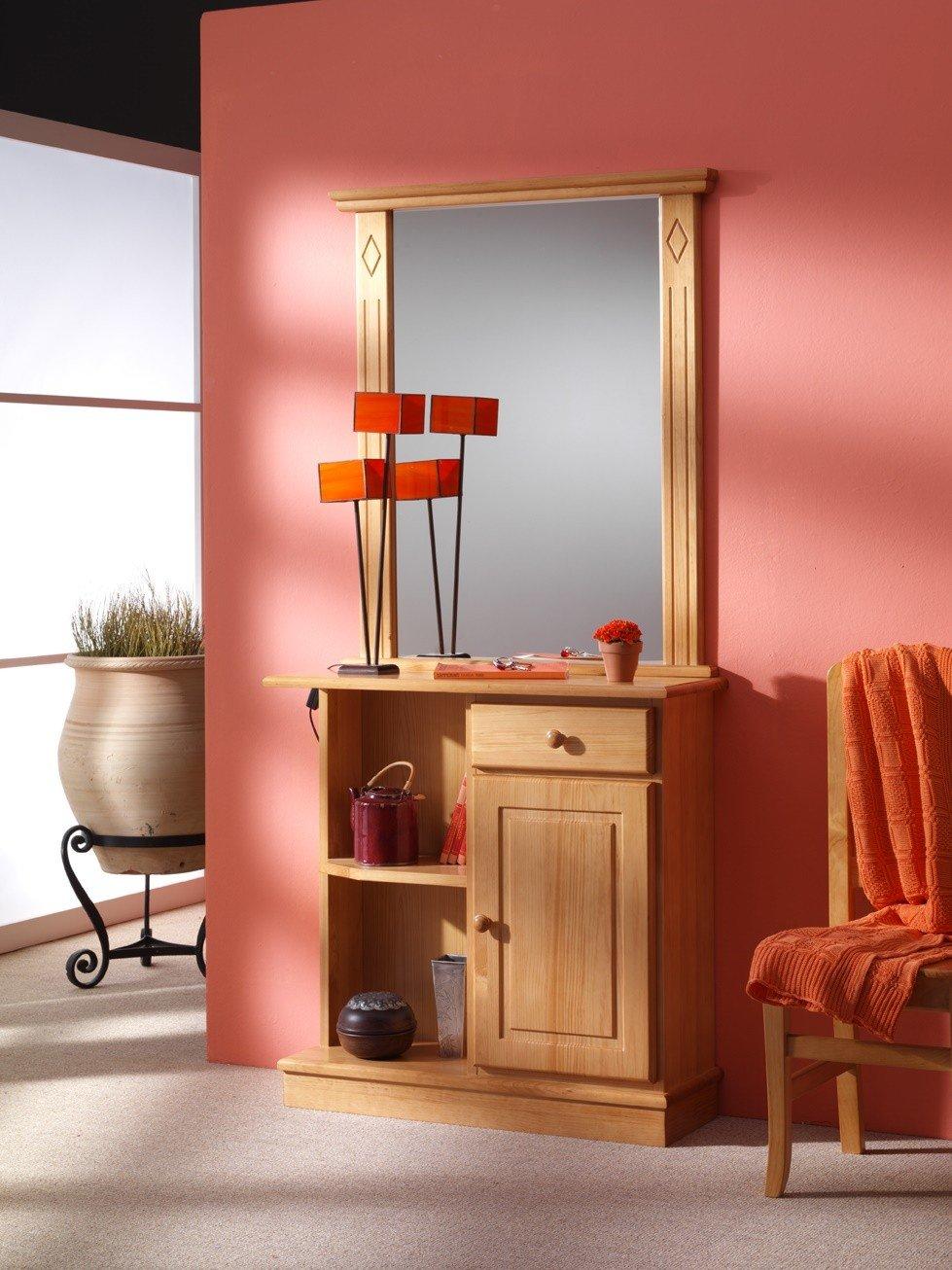 Recibidores baratos muebles de pino tienda decoraci n - Muebles de decoracion baratos ...