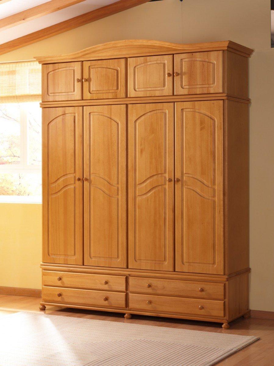Armarios de pino tienda online valencia tienda muebles - Muebles de pino macizo ...