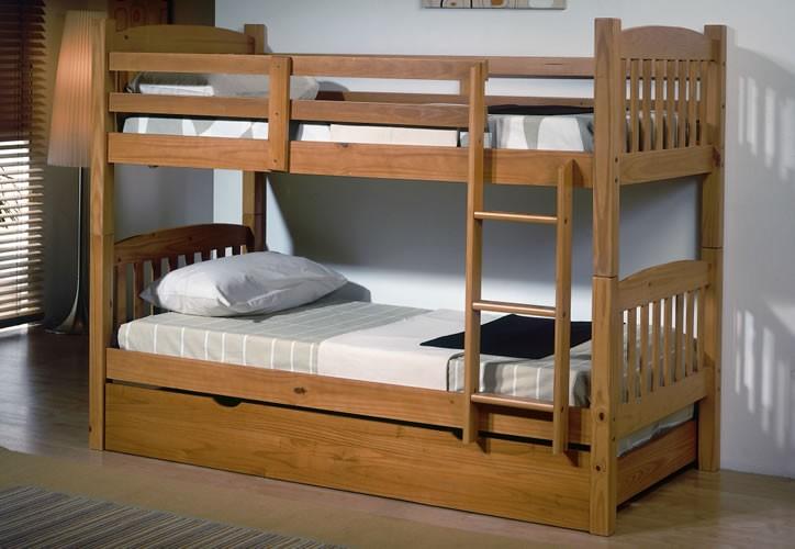 Tienda de muebles baratos online juveniles comedores - Literas infantiles de madera ...