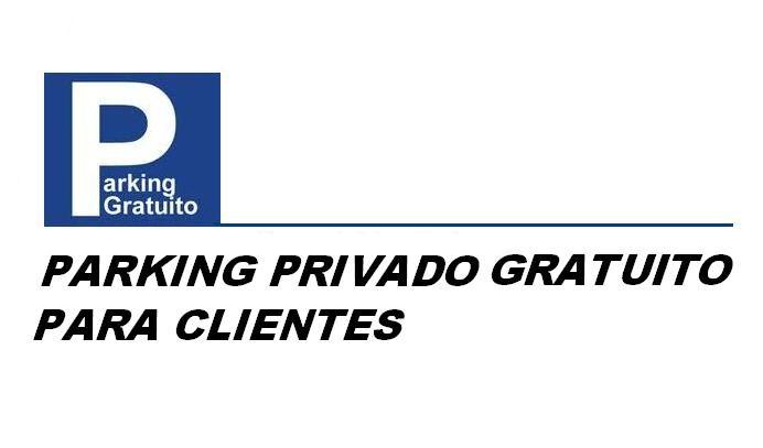 APARCAMIENTO GRATUITO PARA CLENTES