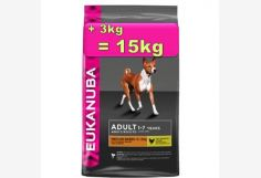 Eukanuba Adult Medium 12+3kg= 15kg