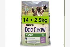 Dog Chow Adulto Cordero 14+2.5= 16.5Kg