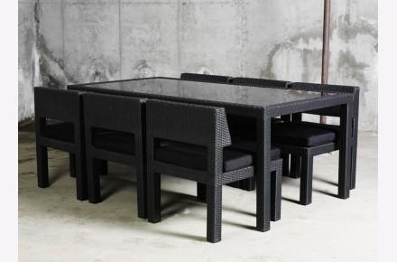 North Island conjunto mesa y sillas