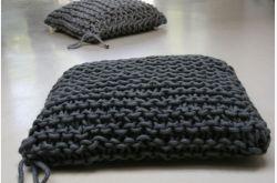 Cojin de suelo lana