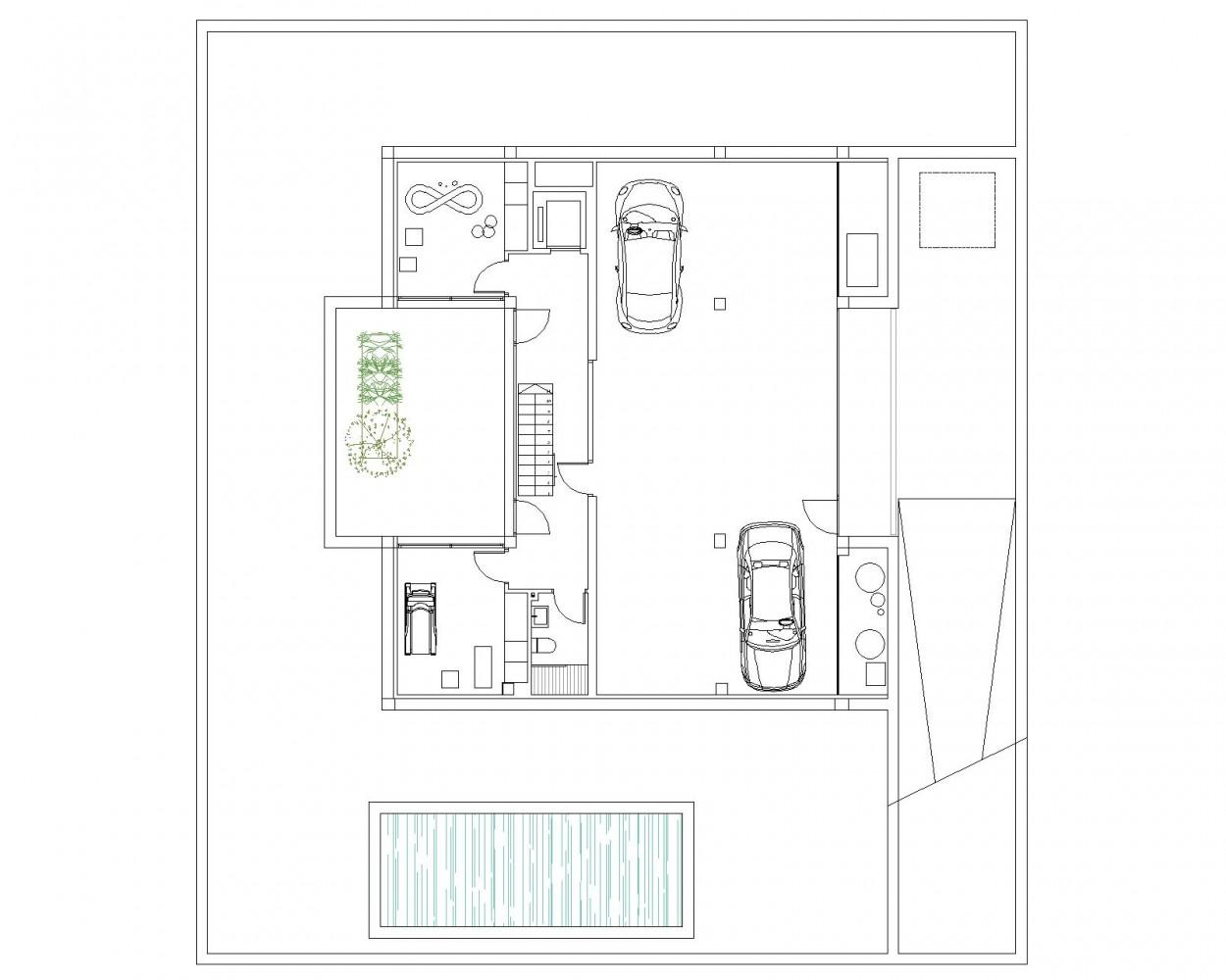 Vivienda aislada y piscina lq1 residencial nu o - Planta baja en ingles ...